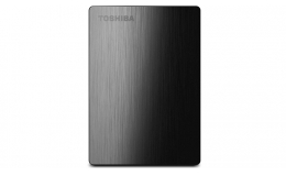 Toshiba Canvio Slim II 1TB Portable External Hard Drive (black)