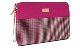 Greene + Gray Surface Pro 3 Laptop Case (Burgundy houndstooth)