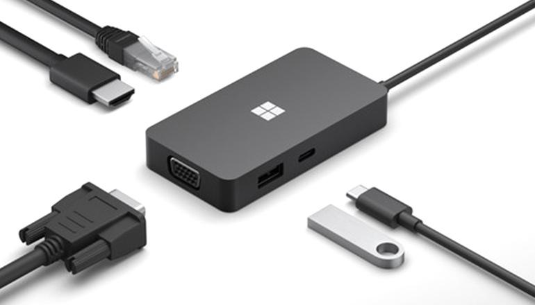 Многопортовый адаптер Microsoft USB Type-C Travel Hub (SWV-00001)