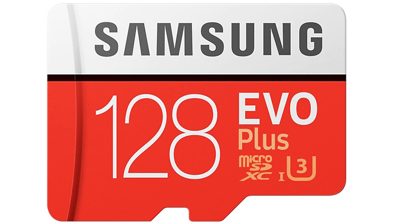 Карта памяти Samsung 128GB microSDXC C10 UHS-I U3 R100/W90MB/s Evo Plus SD адаптер (MB-MC128GA/RU)