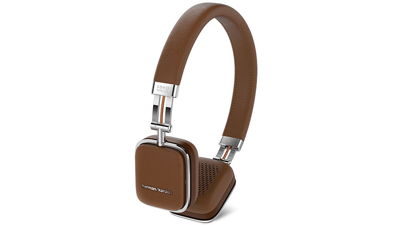 Наушники Harman/Kardon Soho Wireless Brown (HKSOHOBTBRN)