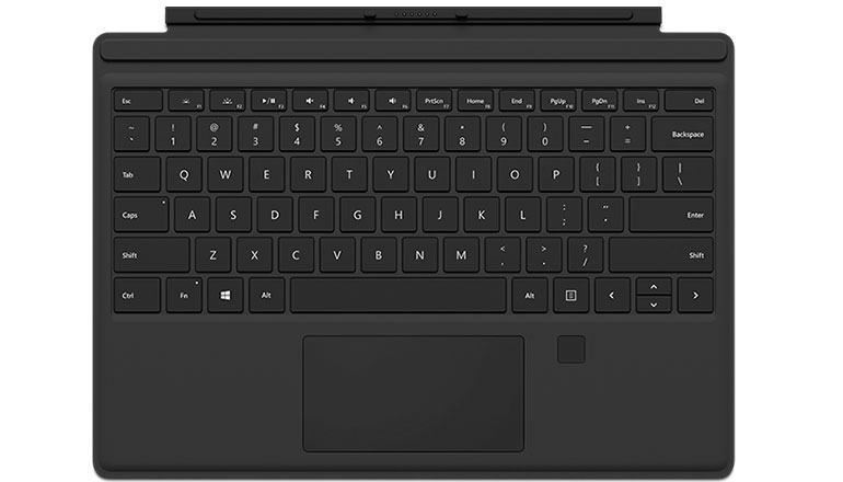 Microsoft Surface Pro 4 Type Cover Fingerprint ID (RH7-00001)