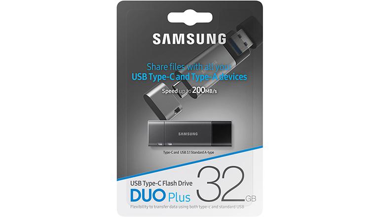 Samsung Duo Plus 32GB - 200MB/s USB 3.1 Flash Drive (MUF-32DB/AM)