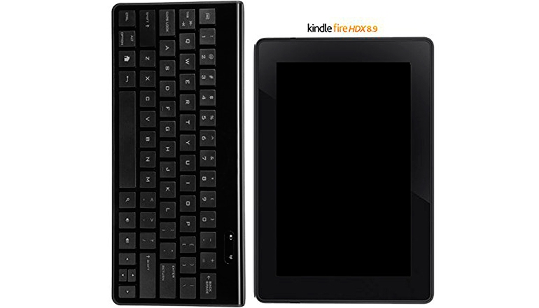 AmazonBasics Bluetooth Keyboard for Android Devices-Black
