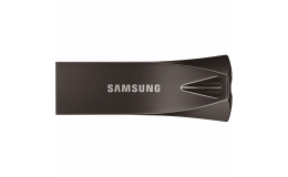 Samsung BAR Plus 256GB - 300MB/s USB 3.1 Flash Drive Titan Gray (MUF-256BE4/AM)