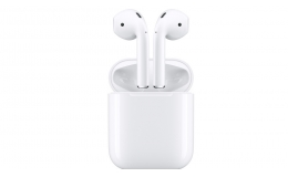 Наушники-гарнитура Apple AirPods with Charging Case (MV7N2)