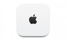 Беспроводной маршрутизатор (роутер) Apple AirPort Extreme (ME918)