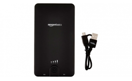 AmazonBasics Portable Power Bank 16100 mAh