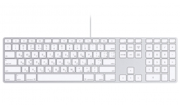Клавиатура Apple Keyboard Aluminium (MB110)