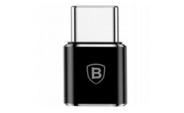 Адаптер Baseus Mini Micro to Type-C (CAMOTG-01) Black