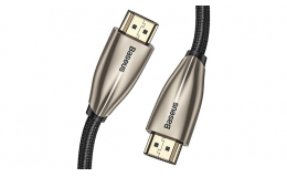 Кабель Baseus Horizontal 4KHDMI Male To 4KHDMI Male Adapter Cable 1m (CADSP-A01) Black