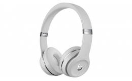 Наушники Beats by Dr. Dre Solo3 Wireless Satin Silver (MUH52/MX452)