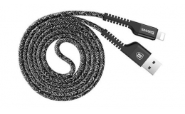 Кабель Baseus Confidant Anti-break Cable For IP 2A 1M (CALZJ-A01) Black