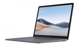 "Microsoft Surface Laptop 4 - 13.5"" Touch-Screen - AMD Ryzen™ 5 Surface® Edition - 8 GB RAM - 256 GB SSD (5PB-00001) Platinum"