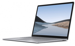 "Microsoft Surface Laptop 3 - 15"" - AMD Ryzen 5 - 8 GB RAM - 128 GB SSD (V4G-00008) Platinum"