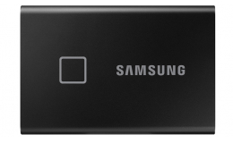 Портативный SSD Samsung T7 Touch 1TB USB 3.1 Gen 2 Black (MU-PC1T0K/WW)