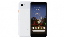 Google Pixel 3a 4/64GB Clearly White (GA00656-US)