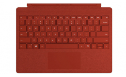 Microsoft Surface Pro Signature Type Cover (FFP-00101) Poppy Red