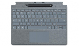 Клавиатура Microsoft Surface PRO X Keyboard Pen Bundle (25O-00047) Ice Blue