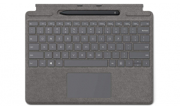 Клавиатура Microsoft Surface PRO X Keyboard Pen Bundle (25O-00067) Platinum