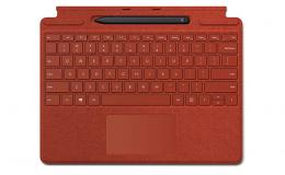 Клавиатура Microsoft Surface PRO X Keyboard Pen Bundle (25O-00027) Poppy Red