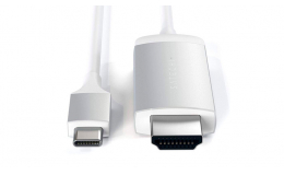Satechi Type-C to 4K HDMI Cable Silver (ST-CHDMIS)