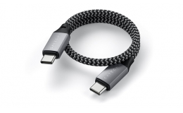Satechi USB-C to USB-C Cable 100W Space Gray 25 cm (ST-TCC10M)