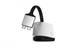 Satechi Aluminum Type-C Dual Multimedia Adapter Silver (ST-TCDMMAS)