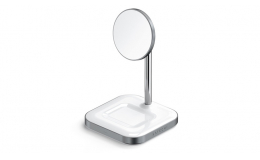 Satechi Aluminum 2 in 1 Magnetic Wireless Charging Stand Space Grey (ST-WMCS2M)