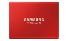 Накопитель Samsung T5 Red Portable SSD - 500GB - USB 3.1 External SSD (MU-PA500R)