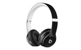 Наушники Beats by Dr. Dre Solo2 Wired Luxe Edition Black (ML9E2)