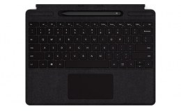 Клавиатура Microsoft Surface Pro X Keyboard Black with Slim Pen