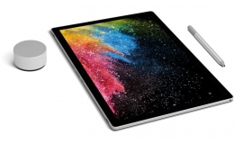 Microsoft Surface Book 2 Silver (FUX-00001)