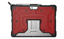 UAG Microsoft Surface Go Feather-Light Rugged [Magma] Aluminum Stand Military Drop Tested Case