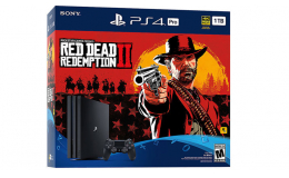 Игровая приставка Sony PlayStation 4 Pro (PS4 Pro) 1TB + Red Dead Redemption 2