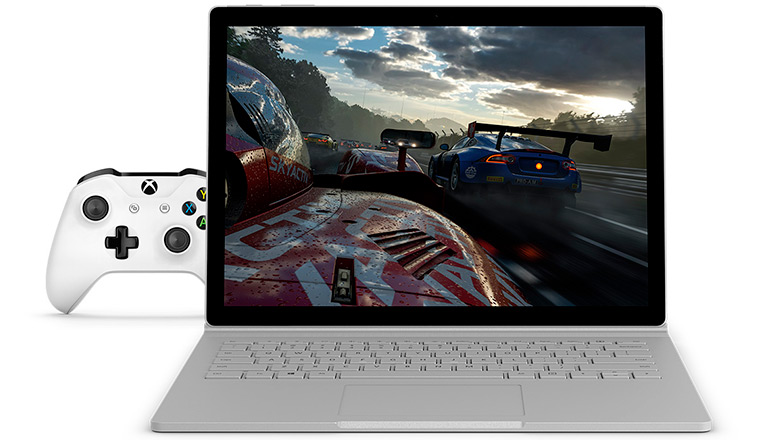 Surface-Book 2. Game