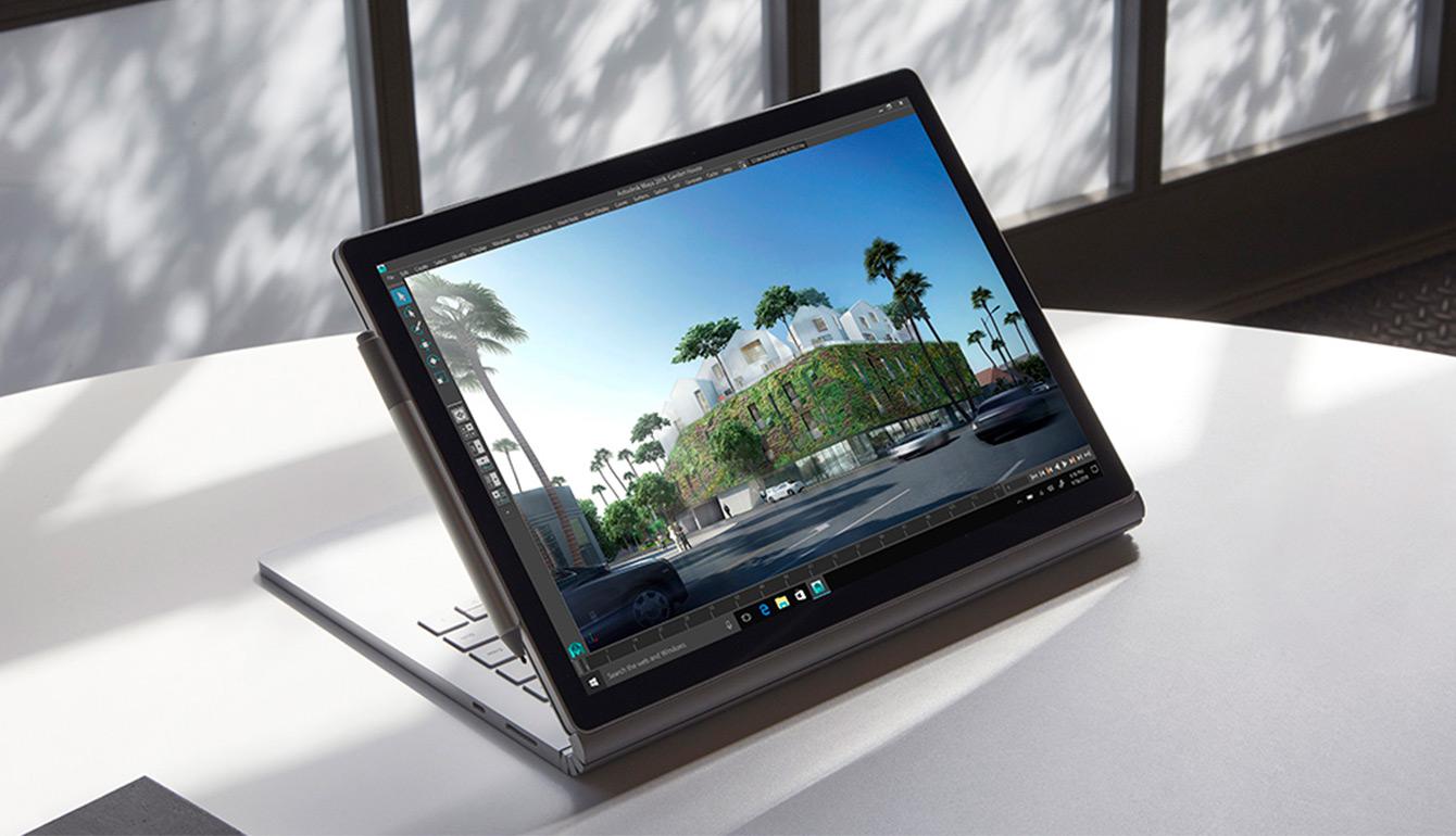 Surface-Book-2. Сенсорный экран PixelSense